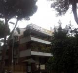 Restauro copertura condominio Roma