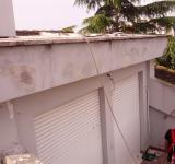 Restauro condominio Roma - particolare frontalini ante operam