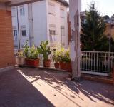 Condominio Roma-Portuense, restauro opere in cemento armato in corso