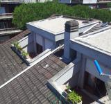 Restauro copertura condominio Roma ante operam